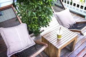 apartment patio or balcony