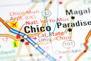 map of Chico