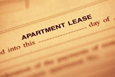 Lease for apartments
