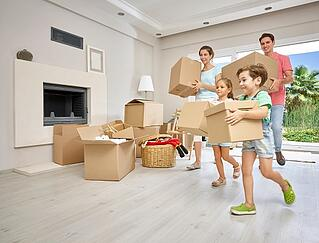 Family moving into chico apartment in summer