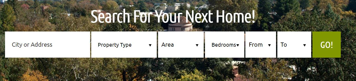 search for your next home