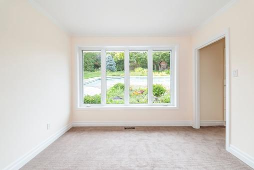 empty apartment bedroom